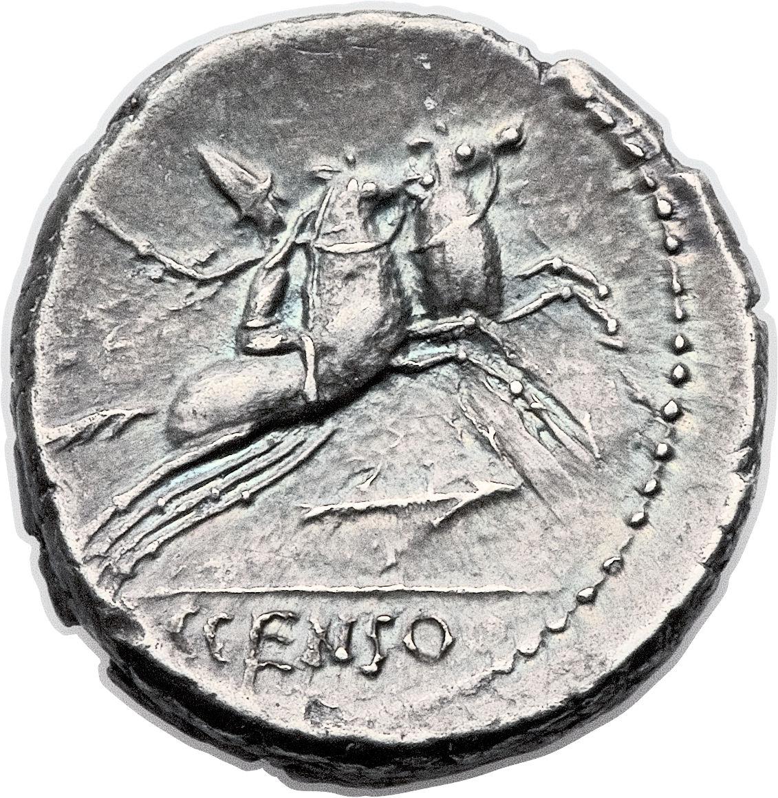 denarius  marcia  gaius marcius censorinus  c censo