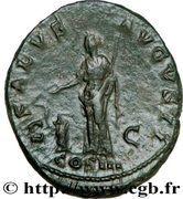 As - Hadrianus (SALVS AVGVSTI COS III) -  reverse