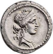 Denarius (Licinia: Publius Licinius Crassus; S•C / P•CRASSVS•M•F) – obverse