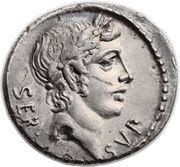 Denarius (Sulpicia: Servius Sulpicius; SER SVLP) – obverse