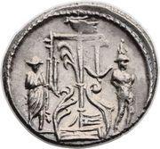 Denarius (Sulpicia: Servius Sulpicius; SER SVLP) – reverse