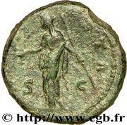 Dupondius - Faustina I (AETERNITAS: Juno) – reverse