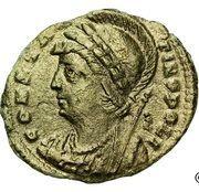 Nummus - Constantinople (GLORIA EXERCITVS) – obverse