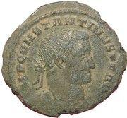 Nummus - Constantin I - GENIO POP ROM – obverse