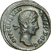 Follis - Constantius II (VOT XX MVLT XXX; Alexandria) – obverse