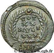 Follis - Constantius II (VOT XX MVLT XXX; Alexandria) – reverse