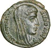 Follis - Constantinus I (VN MR, posthumous; Cyzicus) – obverse