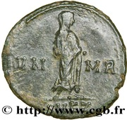 Follis - Constantinus I (VN MR, posthumous; Cyzicus) – reverse