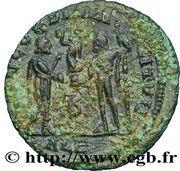 Radiate - Diocletianus (CONCORDIA MILITVM / IMP C DIOCLETIANVS P F AVG, Alexandria mint) – reverse