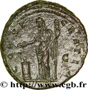 Dupondius - Faustina I (posthumous, DIVA FAVSTINA / CONSECRATIO S C) – reverse