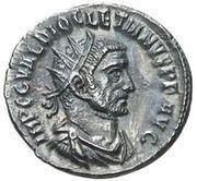 Antoninianus - Diocletianus (IOVI CONSERVATORI AVG, Victory type, Tripolis mint) – obverse