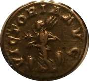 Denarius - Elagabalus (VICTORIA AVG with flying Victory, 4th obverse) – reverse
