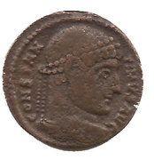 Nummus - Constantinus I (VIRTVS AVGG S-F, Arles mint, 4th type) – obverse