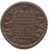 Nummus - Constantinus I (VIRTVS AVGG S-F, Arles mint, 4th type) – reverse