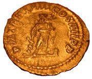 Denarius - Caracalla (PM TR P XVIII COS IIII P P; Aesculape) – reverse