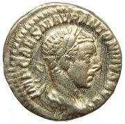 Denarius - Elagabalus (SALVS ANTONINI AVG) – obverse