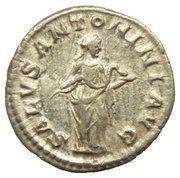 Denarius - Elagabalus (SALVS ANTONINI AVG) – reverse