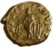Denarius - Elagabalus (LAETITIA PVBL) – reverse