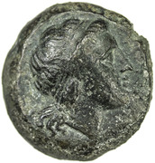 Double litra (Anonymous; ROMANO) – obverse
