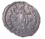 Follis - Constantinus I (SOLI INVICTO COMITI; Arles mint) – reverse