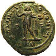 Follis - Constantinus I (SOLI INVICTO COMITI; Trier mint) – reverse