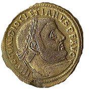 Follis - Diocletianus (GENIO POPVLI  ROMANI) – obverse