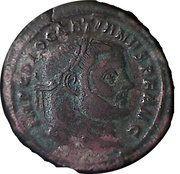 Follis - Diocletianus (SACRA MON URB AVGG ET CAESS NN) – obverse