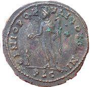 Nummus - Maximianus (GENIO POPVLI ROMANI) – reverse