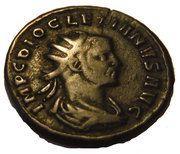 Antoninianus - Diocletianus IOVI CONSERVATORI (imitation) – obverse