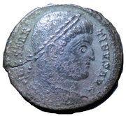 Nummus - Constantinus I (SARMATIA DEVICTA) – obverse