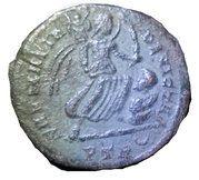 Nummus - Constantinus I (SARMATIA DEVICTA) – reverse
