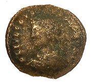 Nummus - Constantius II (PROVIDENTIAE CAESS; Cyzicus) -  obverse