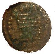 Nummus - Constantius II (PROVIDENTIAE CAESS; Cyzicus) -  reverse