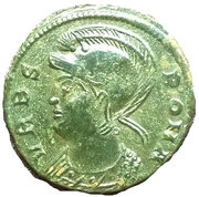 Follis - Constantinus Ist (VRBS ROMA; Thessalonica) – obverse