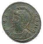 Follis - Constantinus Ist (VRBS ROMA; Roma) – obverse