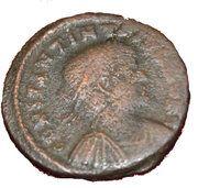 Nummus - Constantinus II (GLORIA EXERCITVS; Cyzicus) – obverse