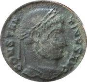 Nummus - Constantinus I (CONSTANTINVS AVG- VOT XX; Ticinium) – obverse