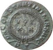 Nummus - Constantinus I (CONSTANTINVS AVG- VOT XX; Ticinium) – reverse