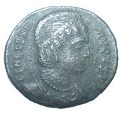 Nummus - Helena (SECVRITAS REPVBLICE;  Heraclea) – obverse