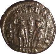 Follis - Constantinus I (one-standard GLORIA EXERCITVS, Nicomedia mint) – reverse