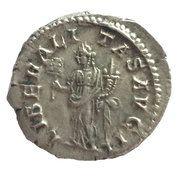 Denarius - Elagabalus (LIBERALITAS AVG) – reverse
