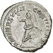 Denarius - Caracalla (P M TR P XVIIII COS IIII P P) – reverse