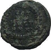 Follis - Constantius II (VOT XX MVLT XXX ; Constantinopolis) – reverse