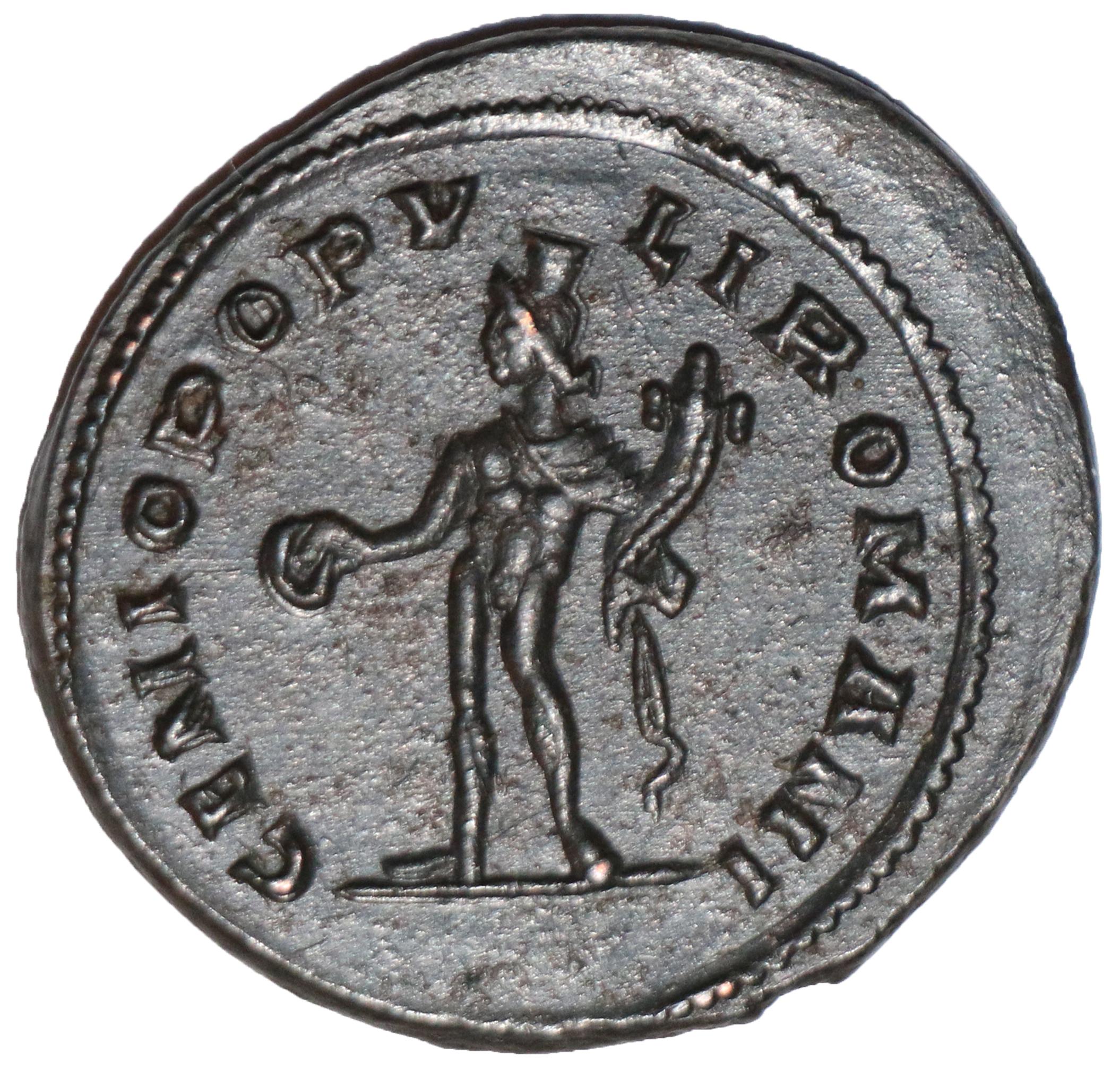 Follis - Galerius (GENIO POPVLI ROMANI; Londinium) - Roman