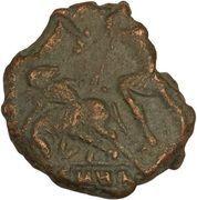 Follis - Constantius Gallus (FEL TEMP REPARATIO; Heraclea) -  obverse