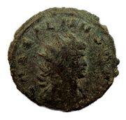 Antoninianus - Gallienus (AEQVITAS AVG; fieldmark VI) -  obverse