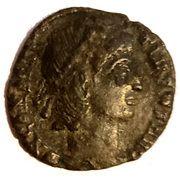 Follis - Constantius II (VOT XX MVLT XXX; Nicomedia) – obverse