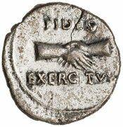 Denarius - Vitellius (FIDES EXERCITVVM) -  reverse