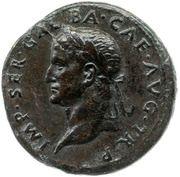 Sestertius - Galba and Livia (AVGVSTA S C) -  obverse