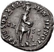 Denarius - Nero (PONTIF MAX TR P X COS IIII P P EX S C; Roma) -  obverse